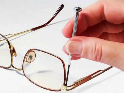 Очки: самостоятельный ремонт оправы, шарниров и регулировка дужек для очков